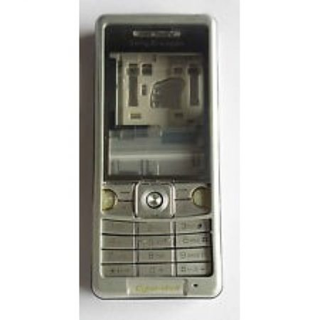 SONY ERICSSON C510 BLACK FRONT COVER+BACK COVER