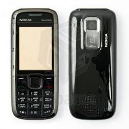 NOKIA 5000  FRONT+LENS-BACK/MIDDLE-BATTERY COVER