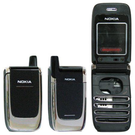 NOKIA 6060 BLACK -SILVER ΕΠΕΝΔΥΣΗ FULL SET
