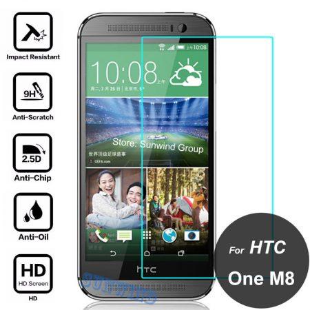 TEMPERED GLASS 9Η ΠΡΟΣΤΑΣΙΑ ΟΘΟΝΗΣ-HTC m8s