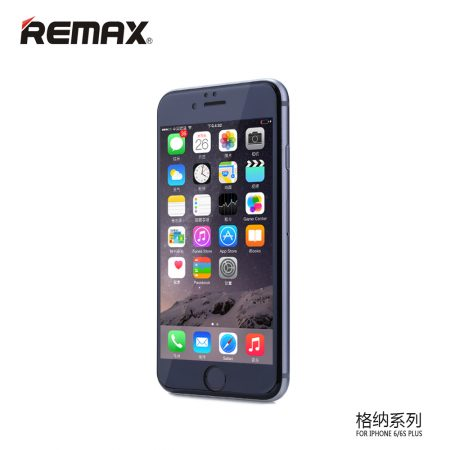 REMAX GENER 3D FULL COVER TEMPERED GLASS - IPHONE PLUS 7/8 Μαύρο