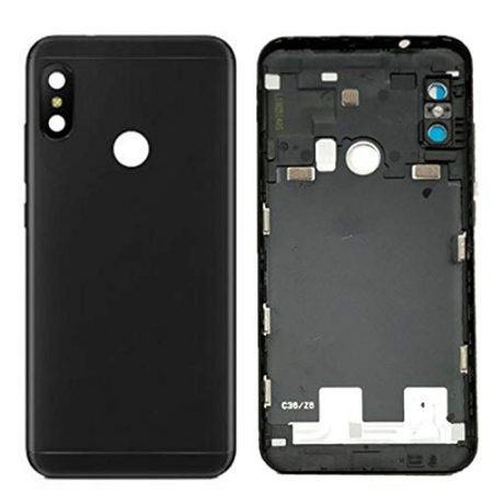 Για Xiaomi Mi A2 Lite (Redmi 6 Pro) - Replacement Battery Cover / Rear Panel - Black ORIGINAL