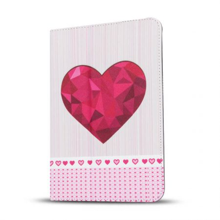 Universal case Heart note for tablet 9-10``