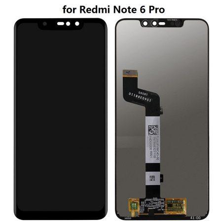 Οθόνη LCD και Μηχανισμός Αφής για Xiaomi Redmi Note 6 Pro - Μαύρο