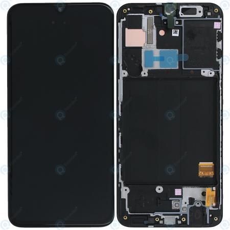 Γνήσια Οθόνη Και Μηχανισμός Αφής Samsung Galaxy A40 A405 GH82-19674A Μαύρο