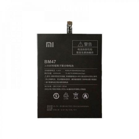 Γνήσια Μπαταρία BM47 για Xiaomi Redmi 3 / Redmi 3 Pro / Redmi 3S / Redmi 3X / Redmi 4X 4000mah