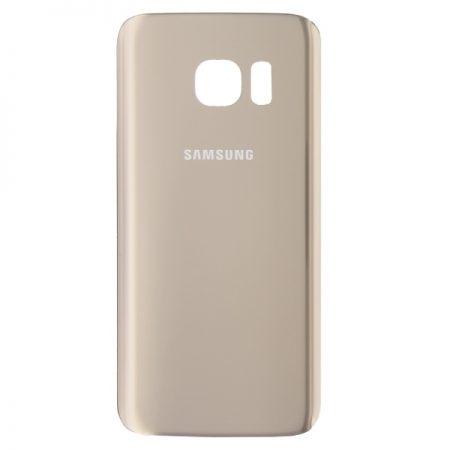 Καπάκι Μπαταρίας με Αυτοκόλλητη Ταινία Samsung Galaxy S7 (G930F) - GOLD ΧΡΥΣΟ OEM