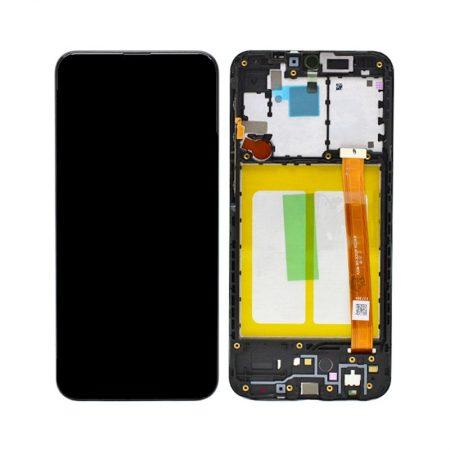 Γνήσια Samsung Οθόνη LCD και Μηχανισμός Αφής για Samsung Galaxy A20e SM-A202 - Μαύρο (GH82-20186A)