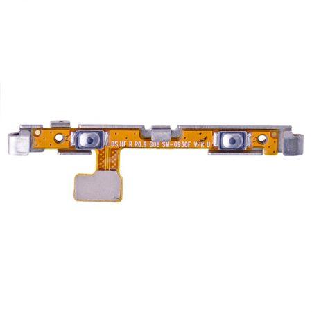 Γνησιο Power & Volume Button Flex/Καλωδιοταινία Πλήκτρων Ήχου Και On/Off for Samsung S7 ORIGINAL G930F
