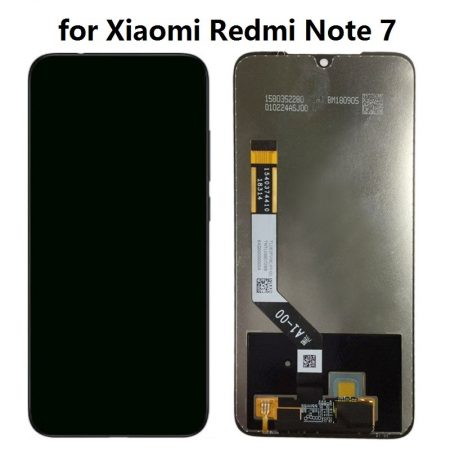 Οθόνη LCD και Μηχανισμός Αφής για Xiaomi Redmi Note 7 - Μαύρο