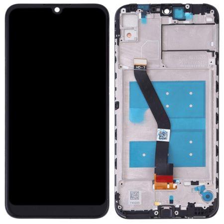 ΓΝΗΣΙΑ Honor 8A LCD Display + Touch Unit + Front Cover Black (Service Pack)ORIGINAL